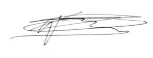 Signature C Gaussen